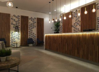 ENTICDESIGNS CEMENT TILES: KEIDOS BLEU. LABRANDA HOTELS & RESORTS.